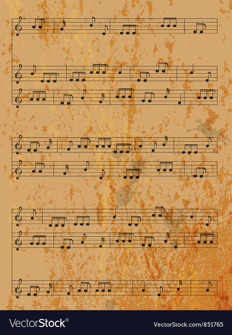 Free vintage music background vector