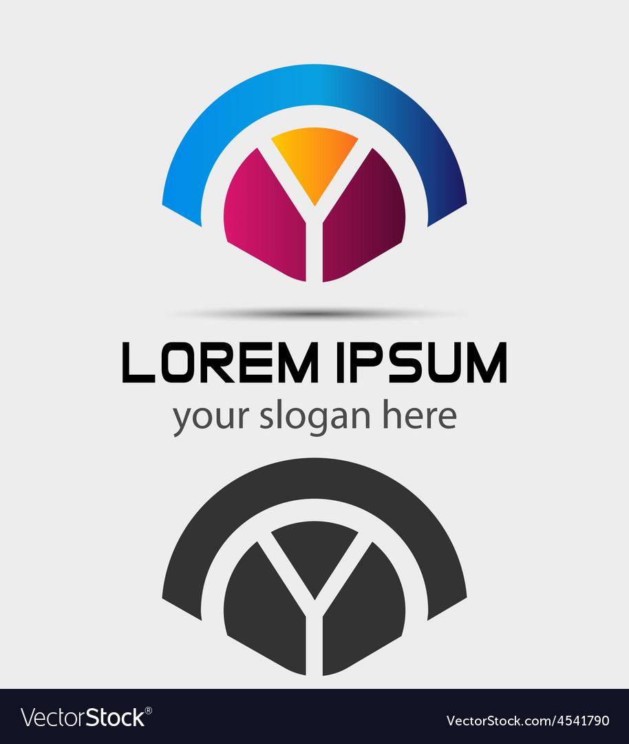 Letter y logo de...Y Logo Design