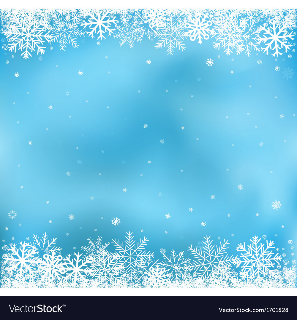 Blue snow mesh background vector
