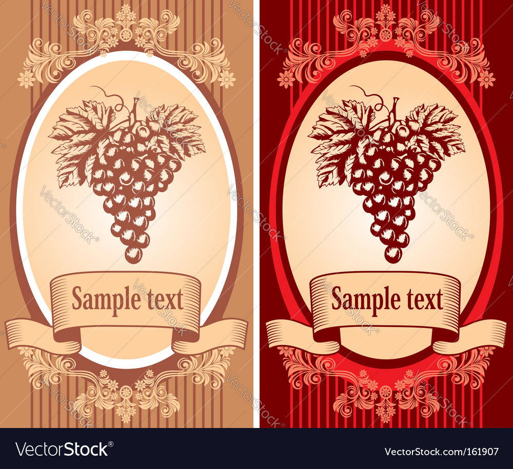 Wine Label Template Pdf wine label vector by pazhyna - image #161907 ...: imgarcade.com/1/wine-label-template-pdf