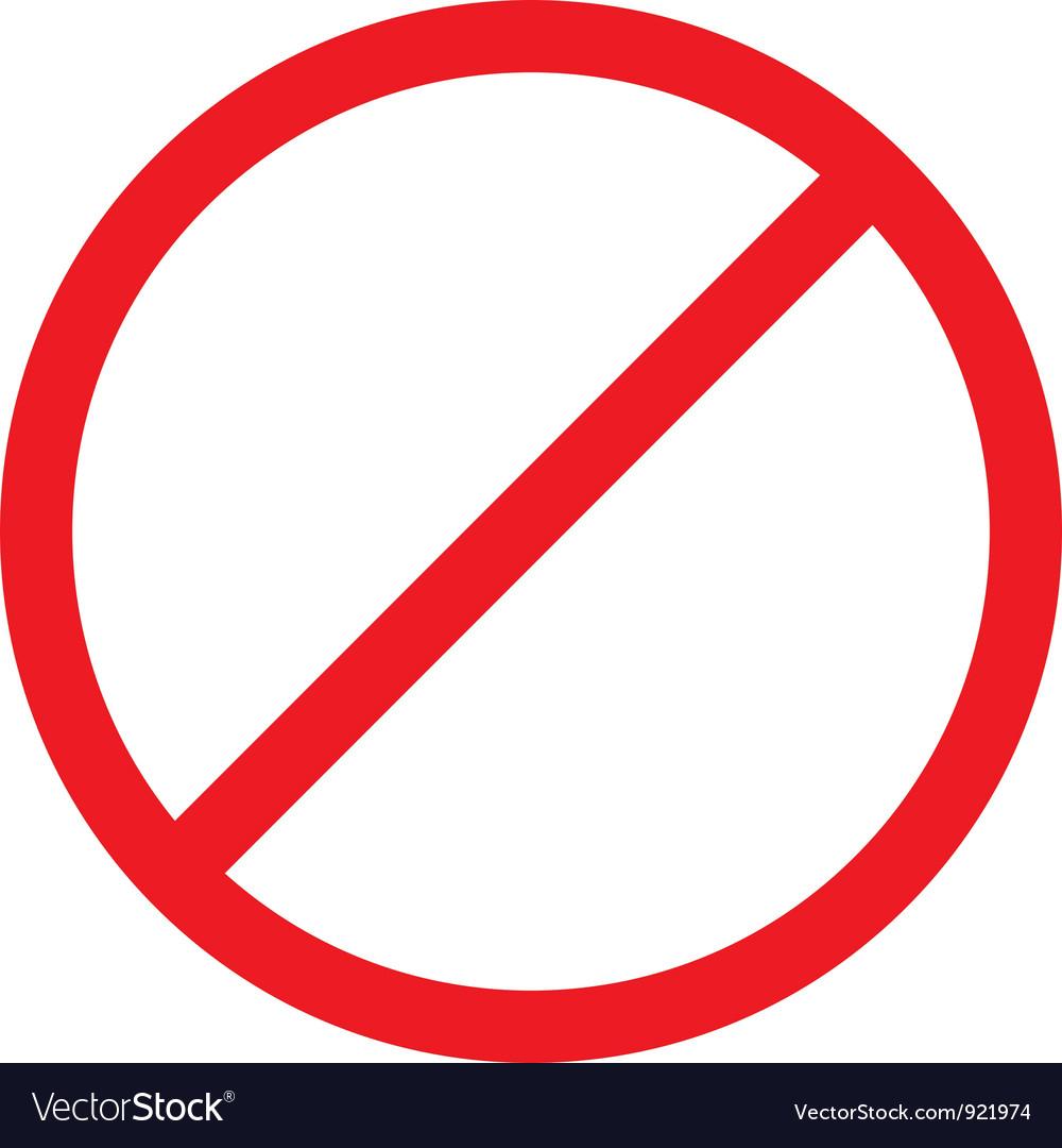 Forbidden sign vector by vadimmmus - Image #921974 ...