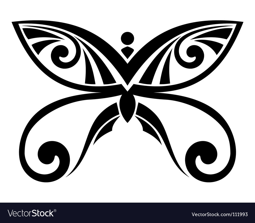 Free butterfly vector