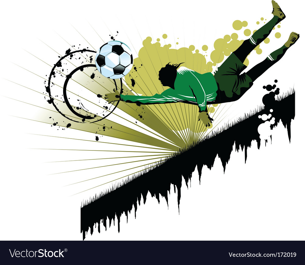 Goalkeeping vector
