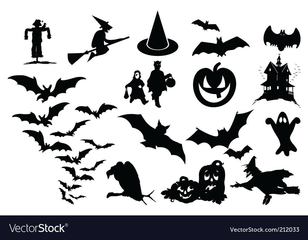 Halloween Vectors halloween pumpkins face designs Halloween Vector