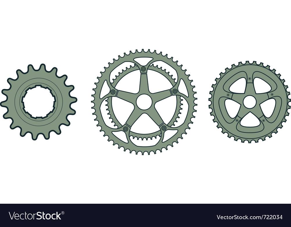 Bike Gears Bike gears vector