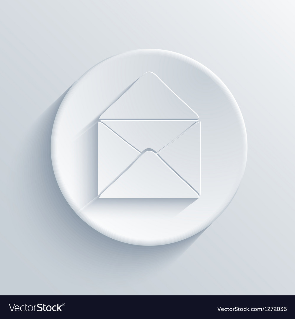 Light circle icon vector