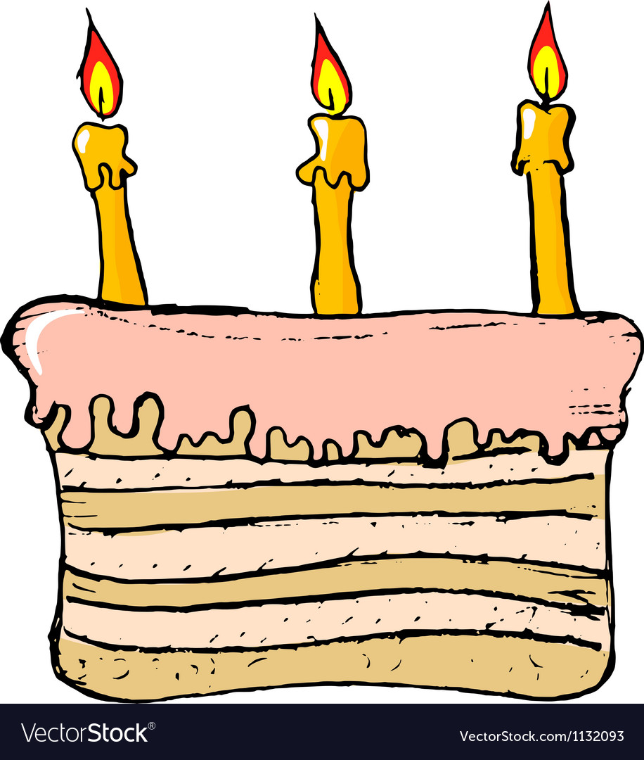 Free birthday cake vector