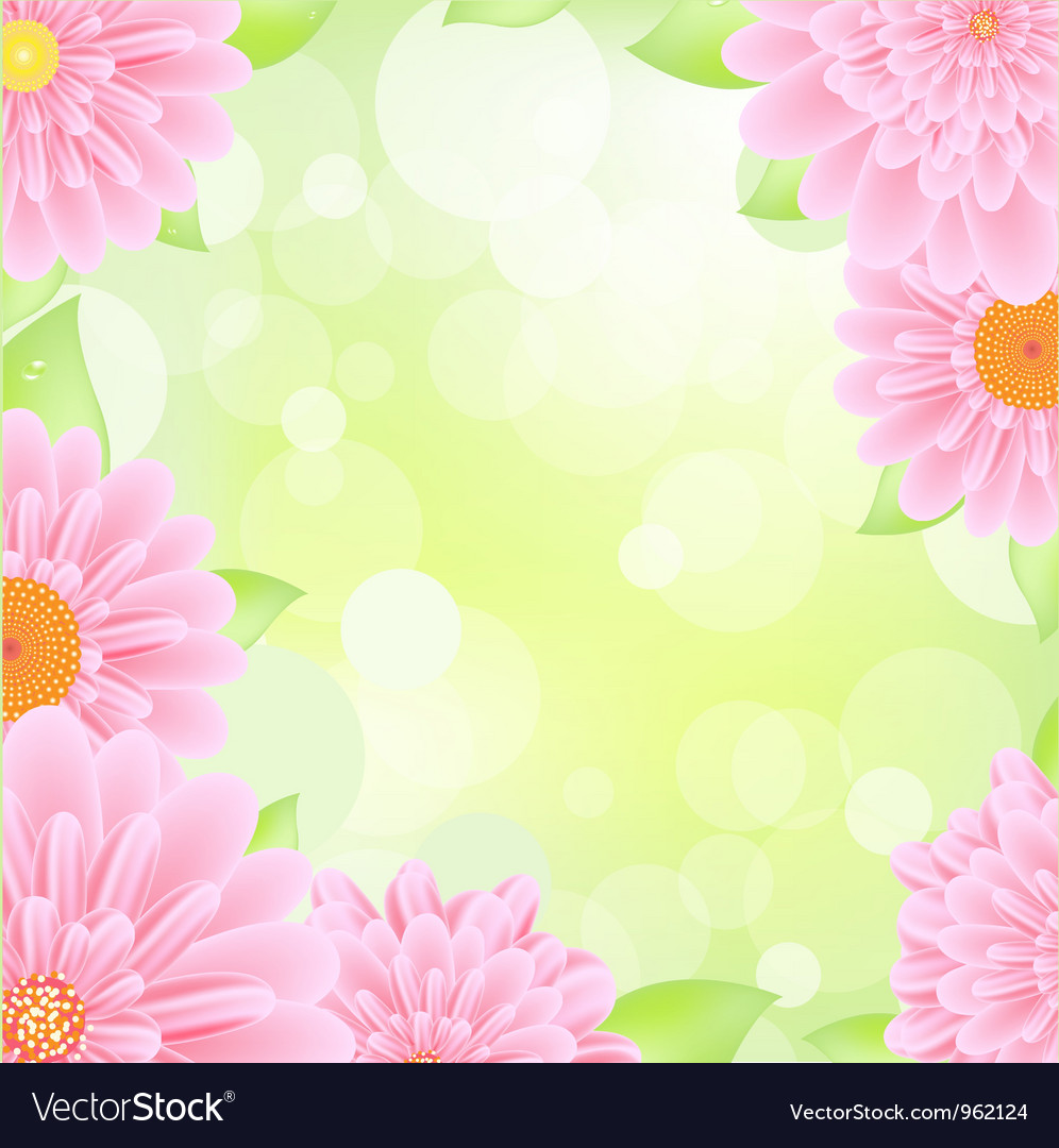 Gerber background vector