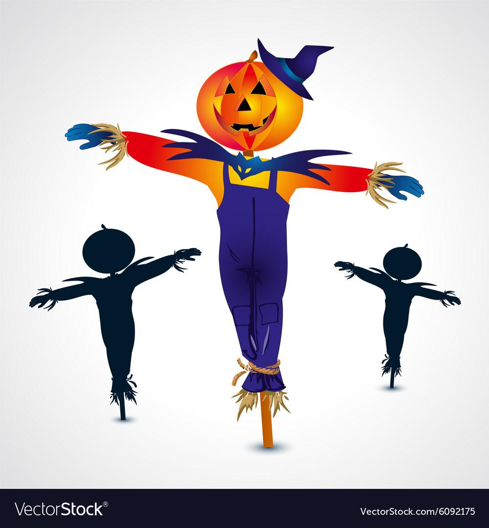 Scarecrows halloween symbol