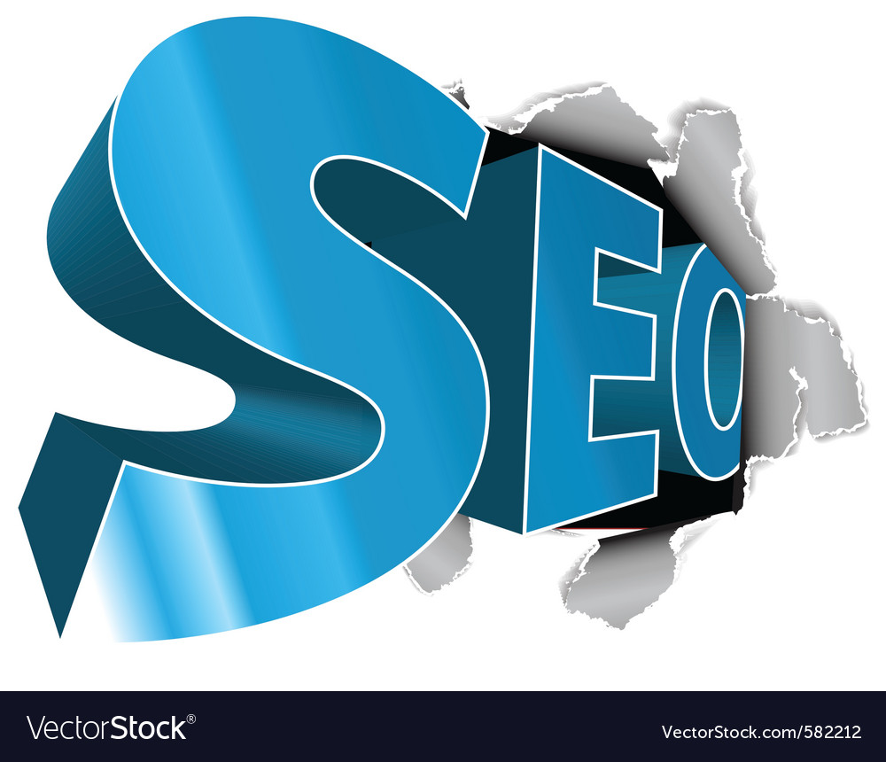 Seo search engine vector