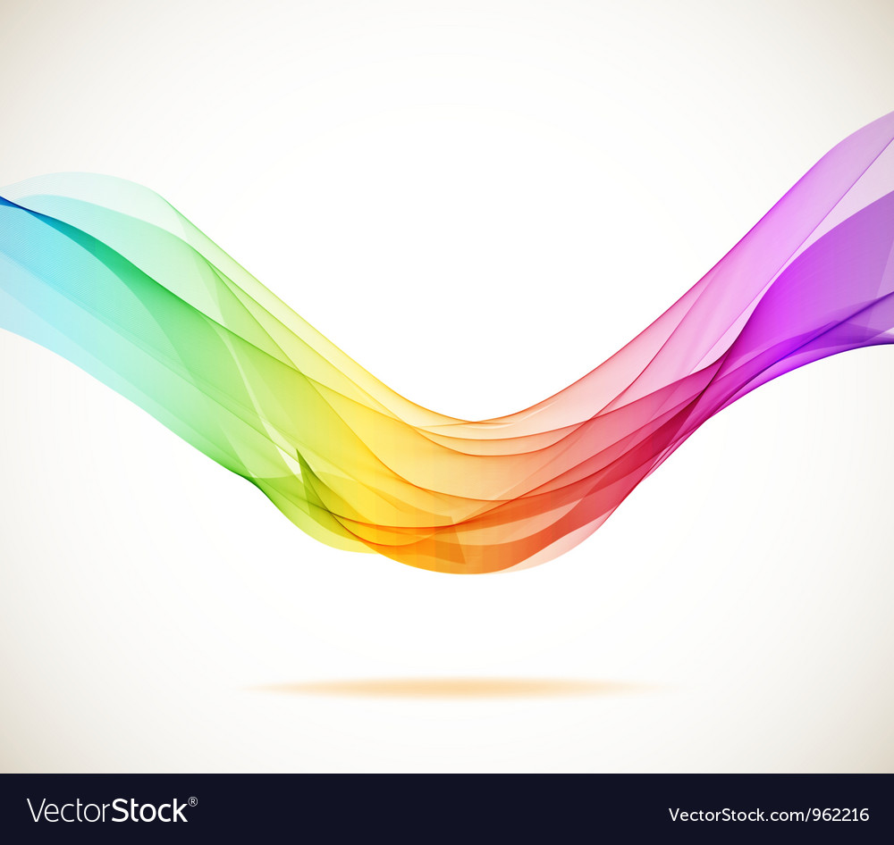 Color abstract background vector
