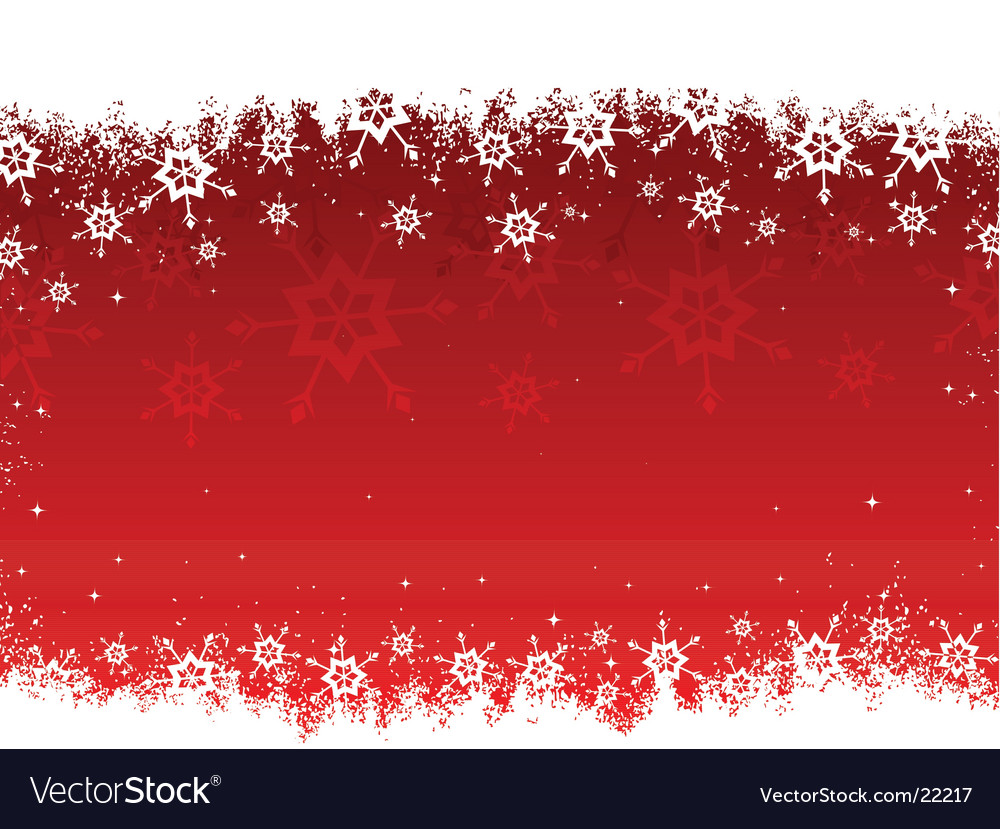 Grunge snowflakes vector