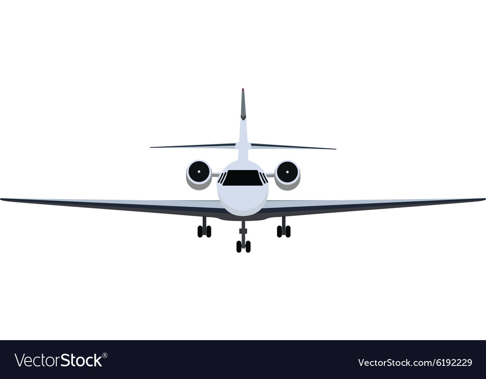 Private Jet Vector By Viktorijareut  Image 6192229  VectorStock