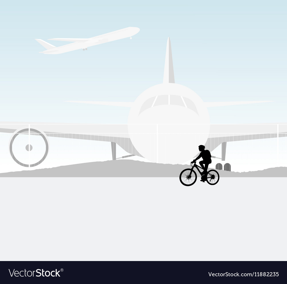 Cycling airport