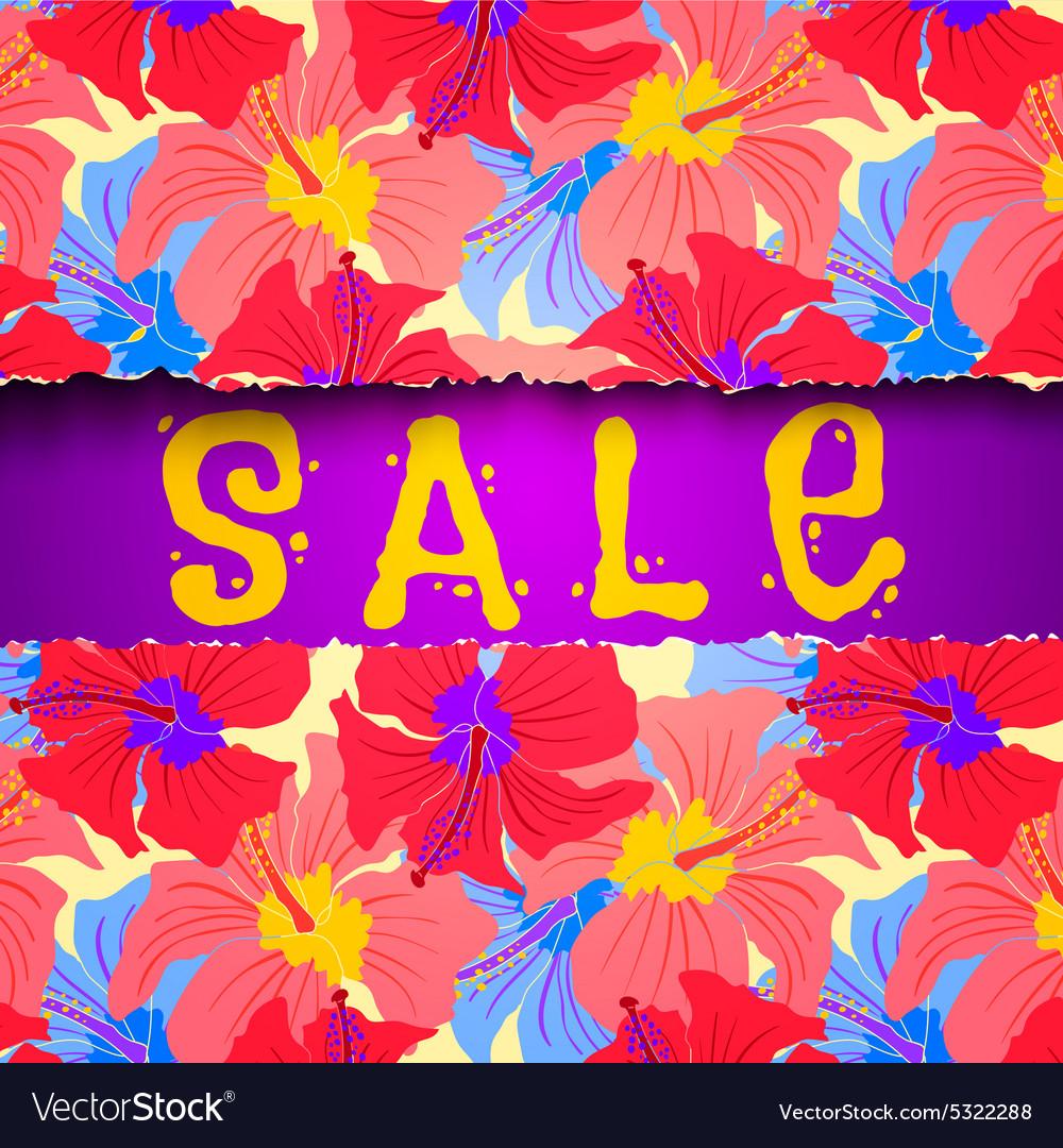 Torn paper summer sale