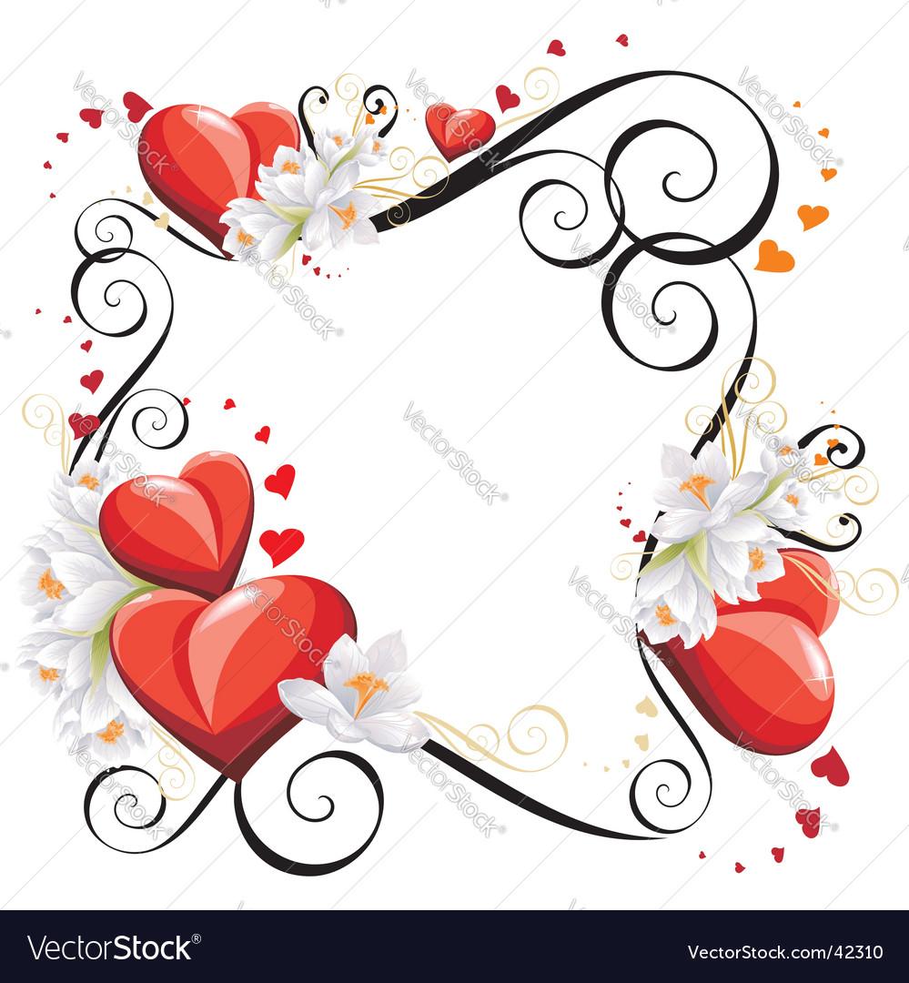 Valentines Frame valentines frame vector by rahneda - image #42310 ...