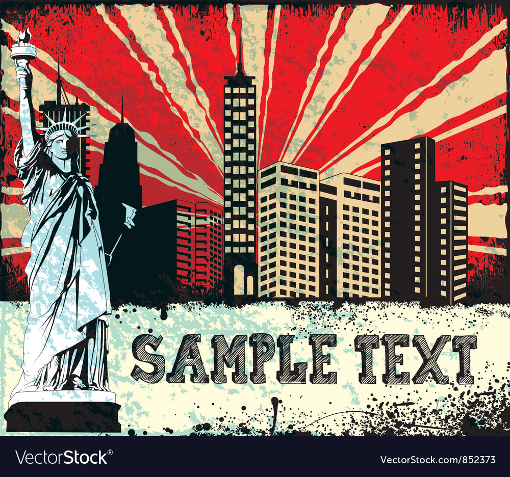 Free grunge urban background vector