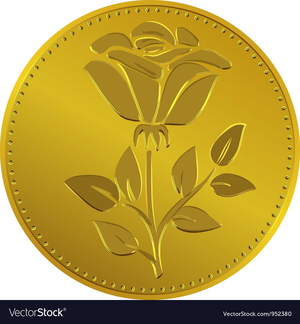 Free british money gold coin vector