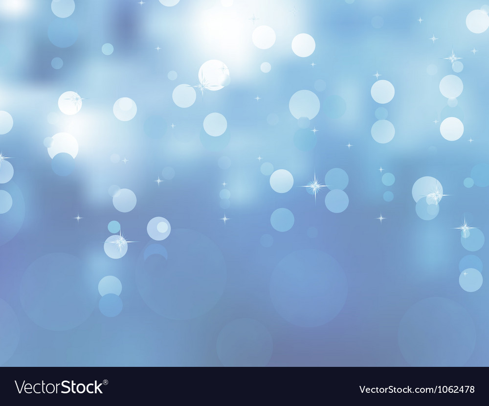 Glittery blue christmas background eps 8 vector