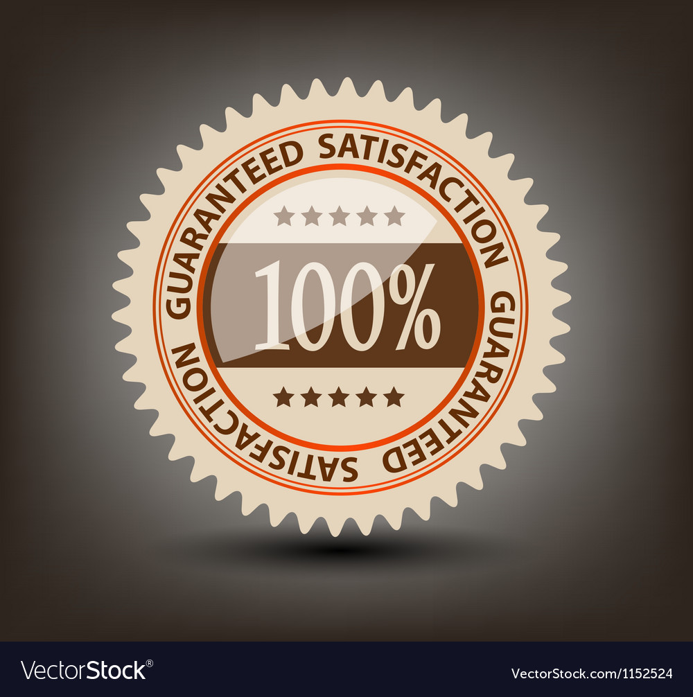 Satisfaction guaranteed label vector