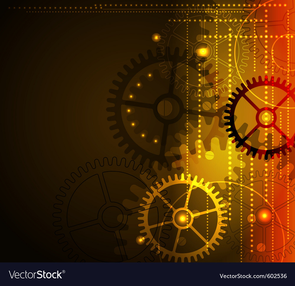 Stylized glowing background vector