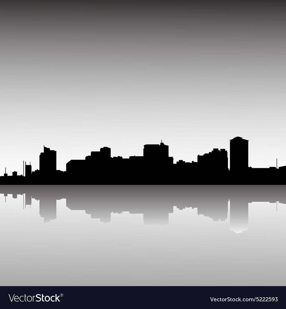 Cityskylinedusk