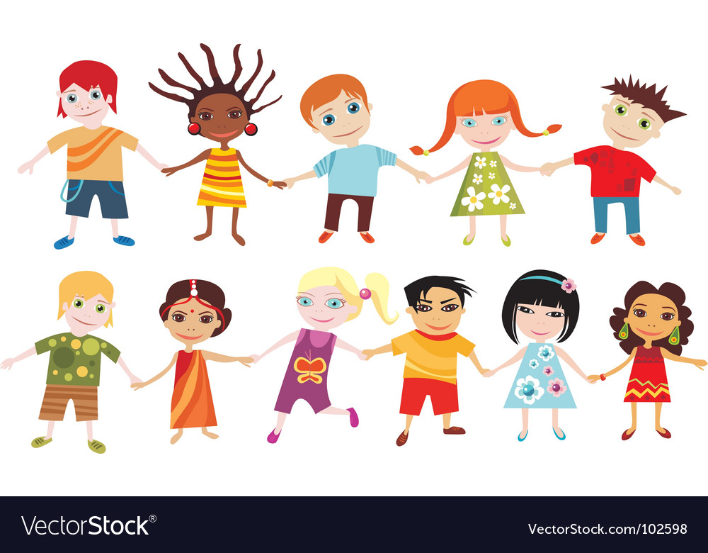 download free games for kids pictures 1 children vector by nem4a image 102598 vectorstock - Children Images Free Download