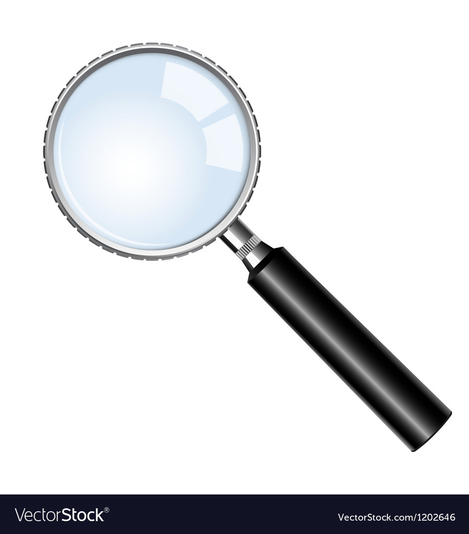Magnifying glasses vector