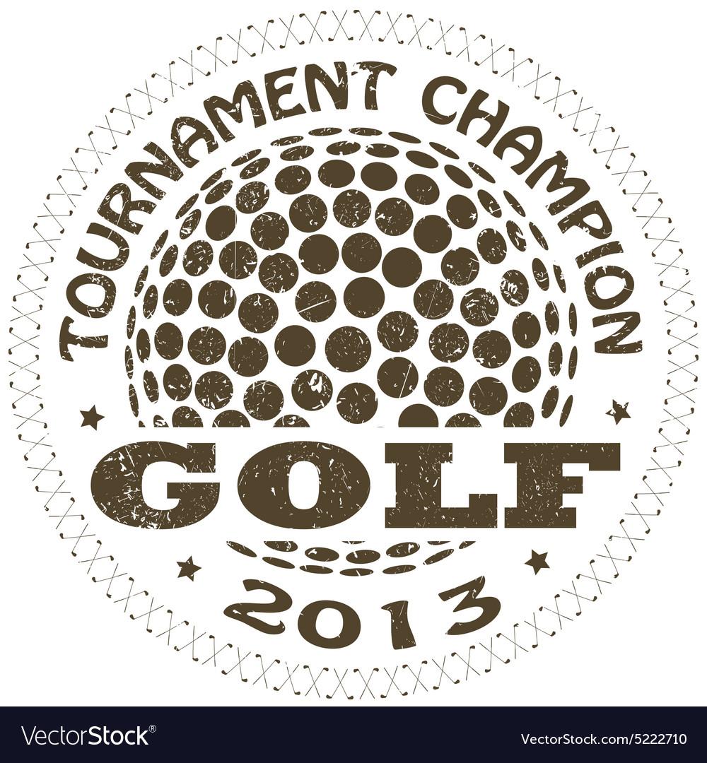 Golf label