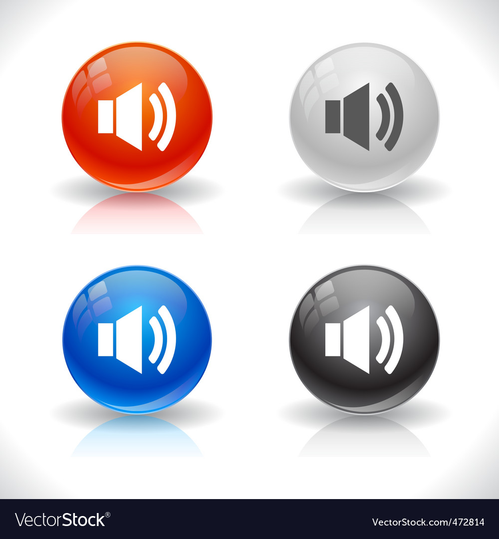 Website buttons vector