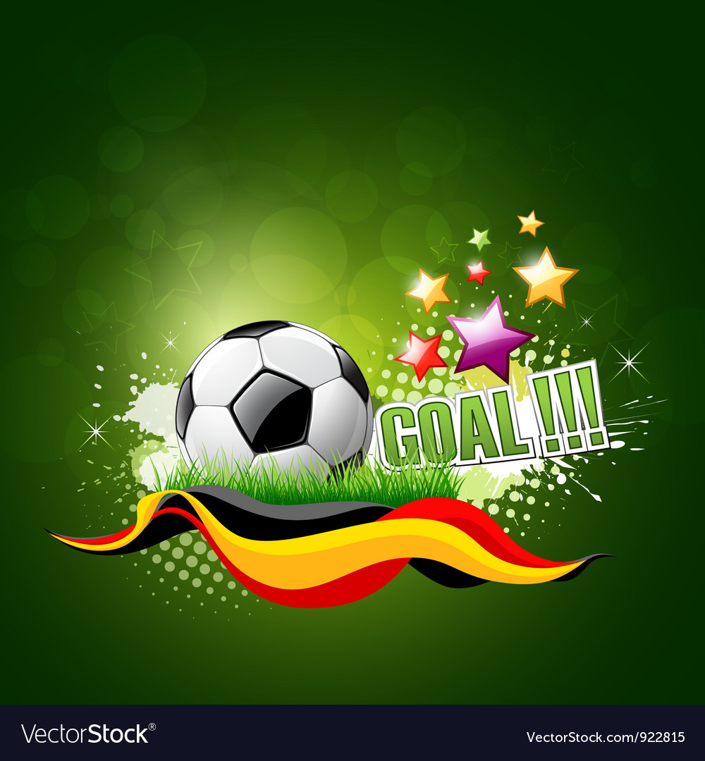 Football artistic background vector