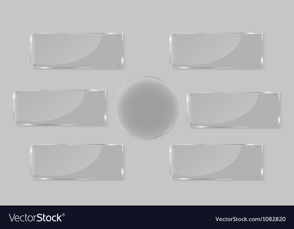 White frames in art gallery vector