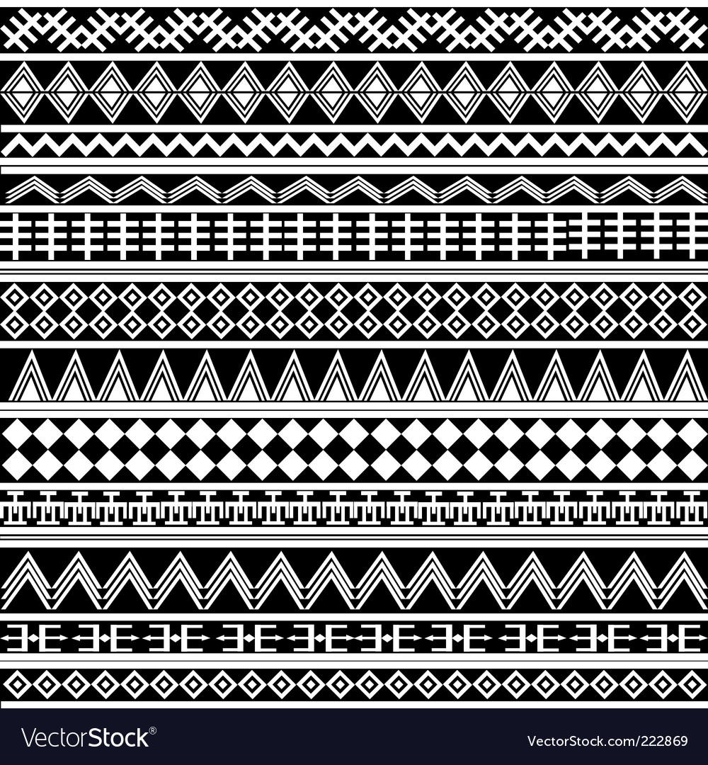 Geometrical shapes pattern vector