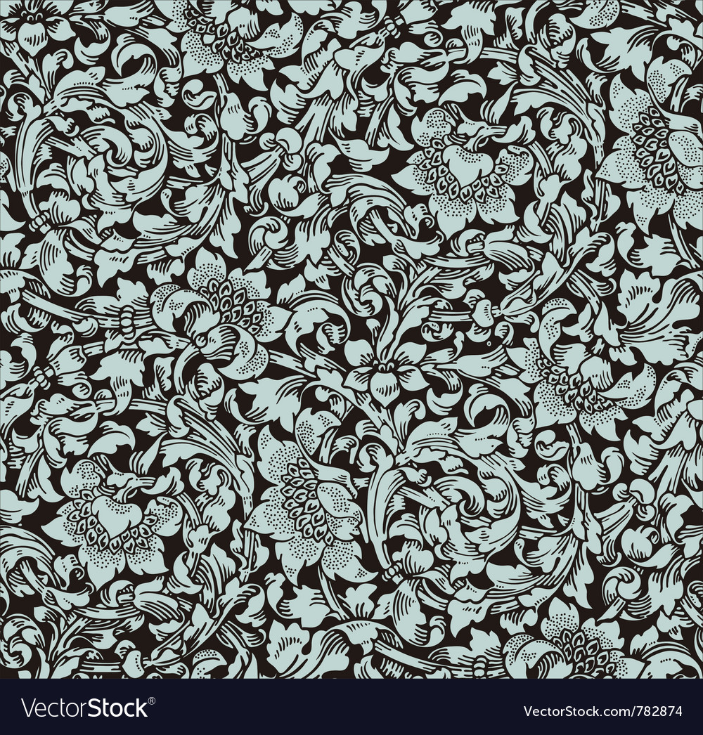 Wall pattern vector