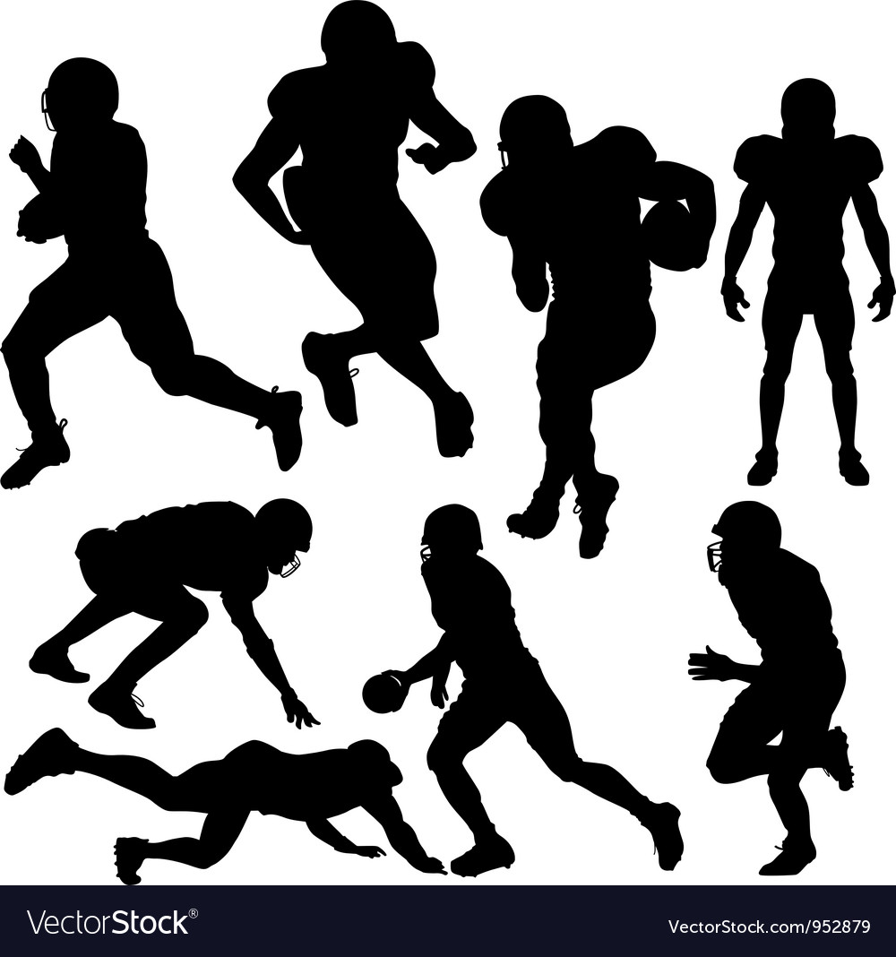 Footballplayers vector