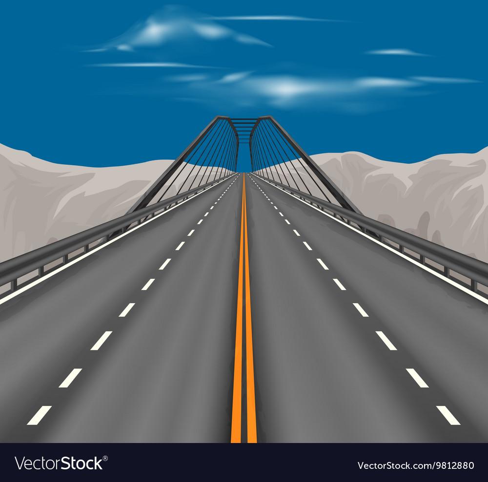 Superhighway scene