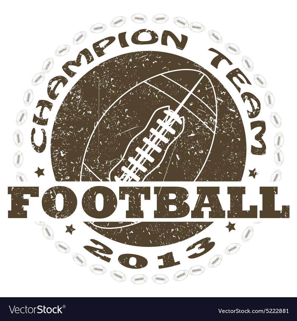 Football label