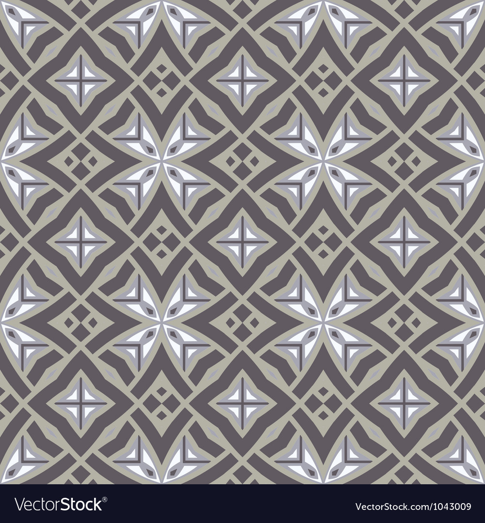 Ethnic modern geometric seamless pattern ornament vector