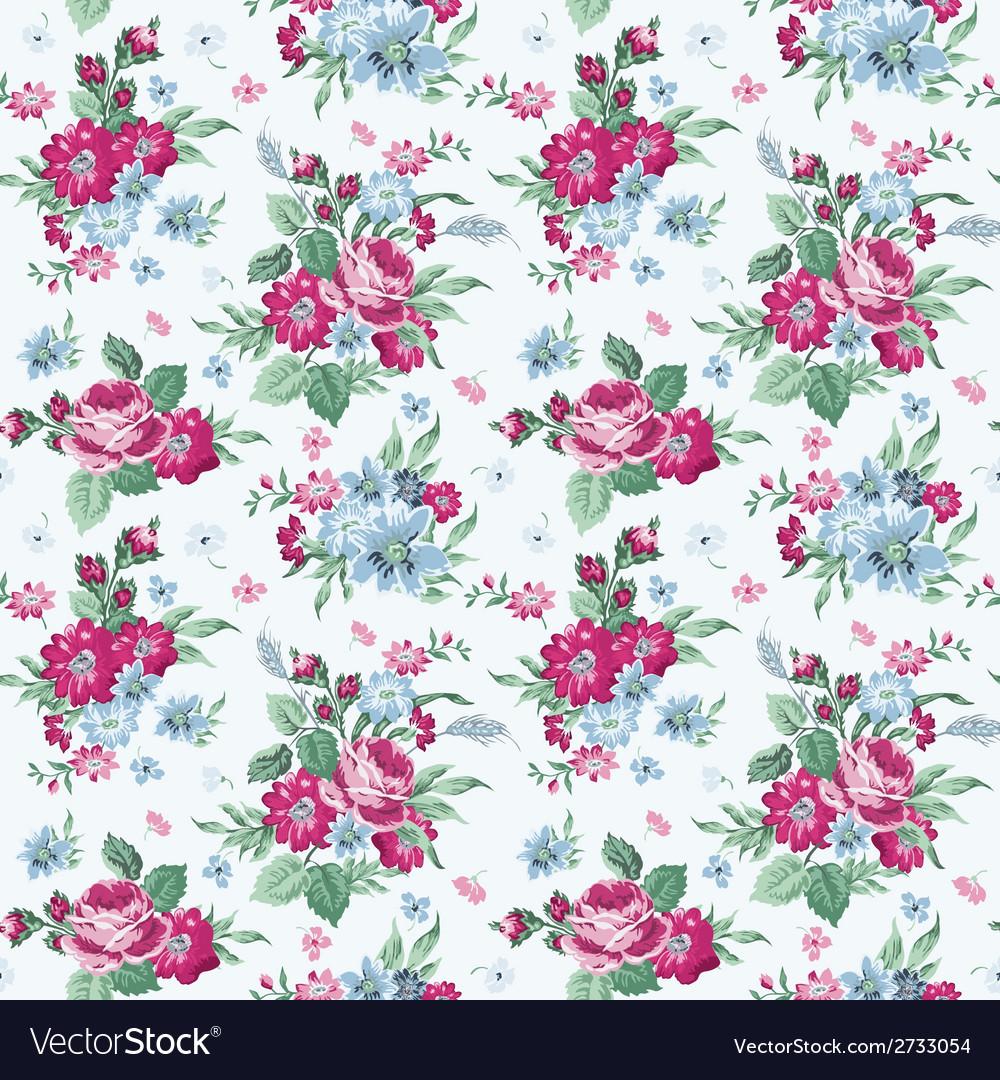 Vintage Flower Background Patterns