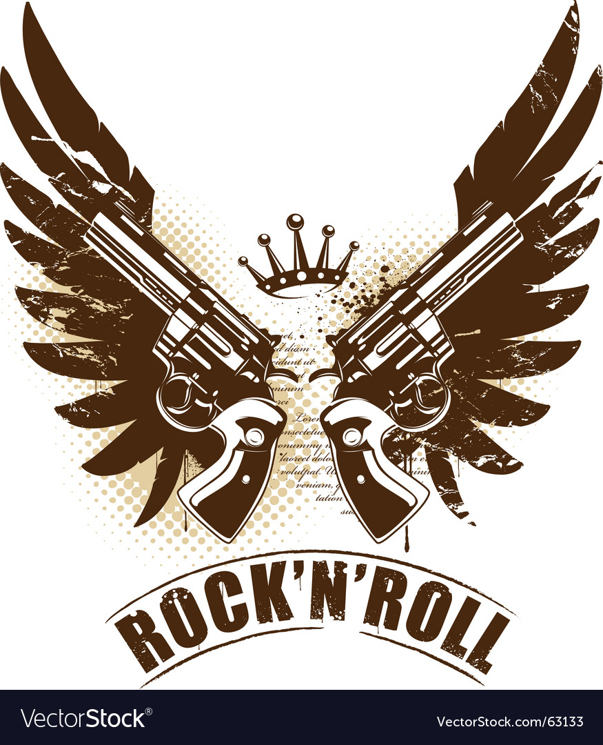 Free rock n roll vector