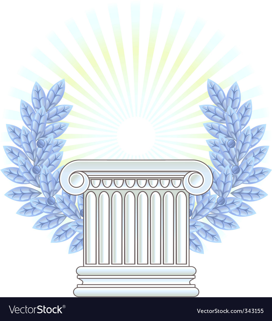 Greek column vector