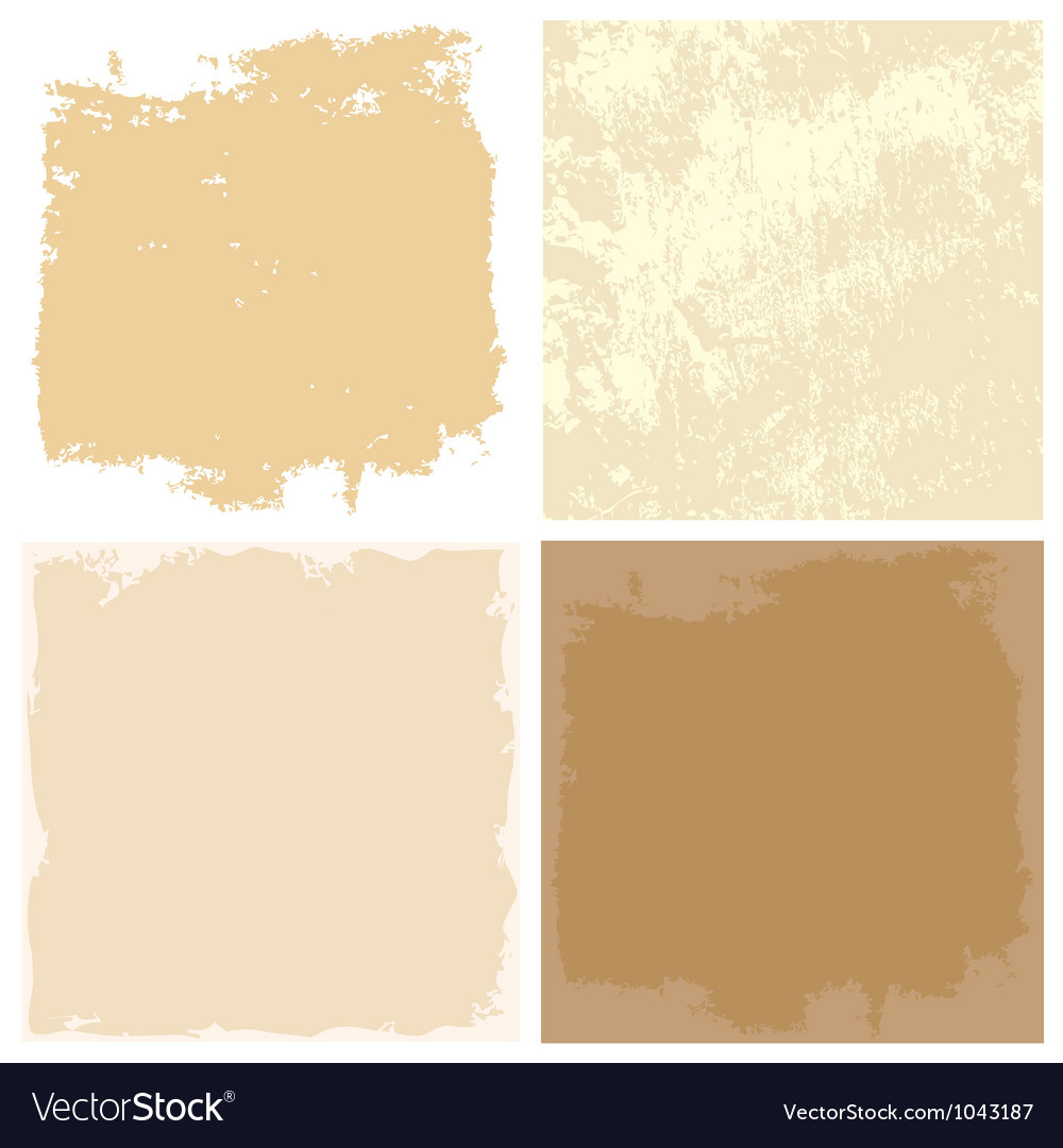 Abstract grunge backgrounds with old paper texture vector
