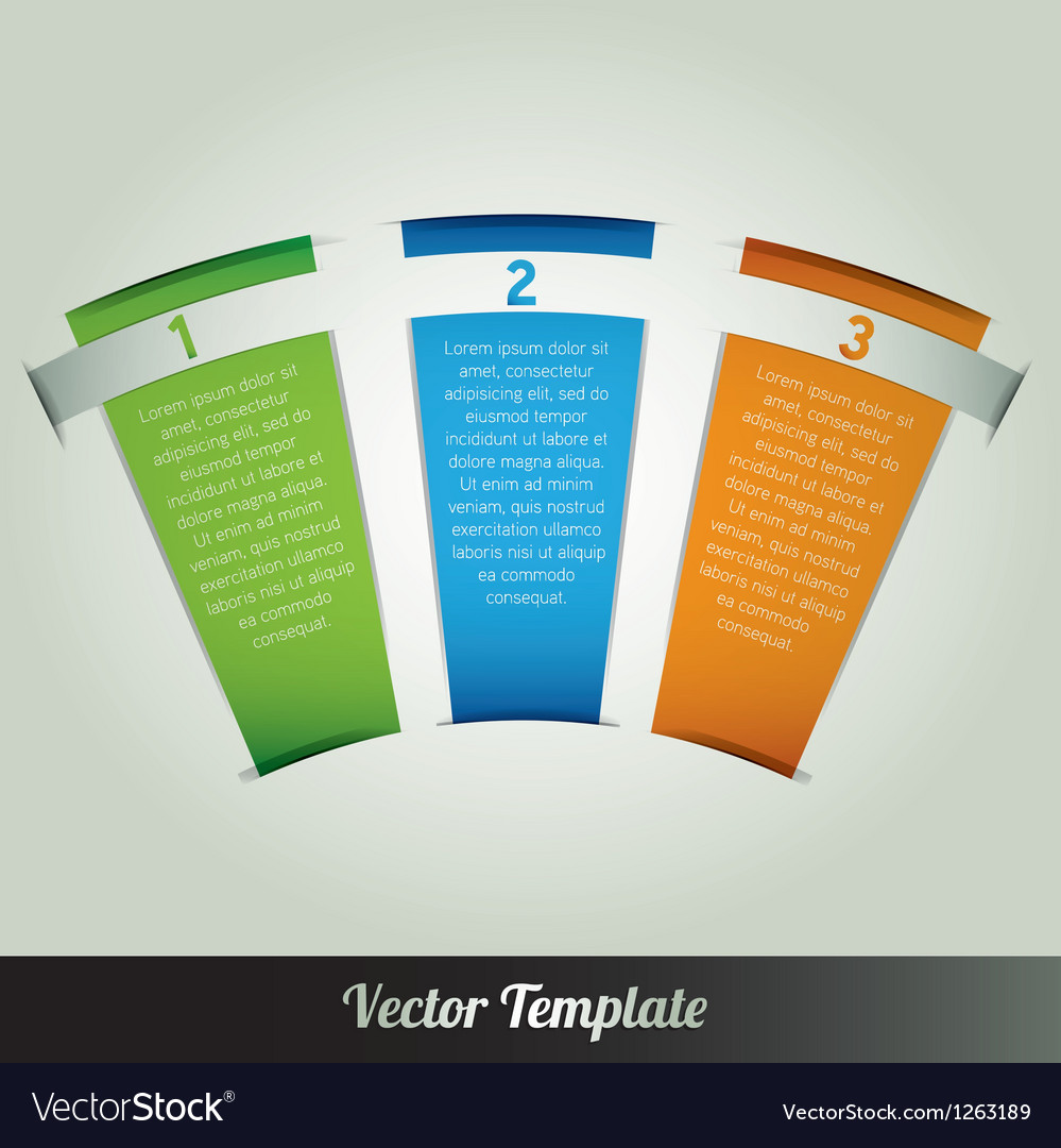 Banner design template eps10 vector
