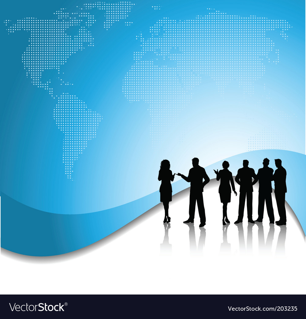 Business conversations vector