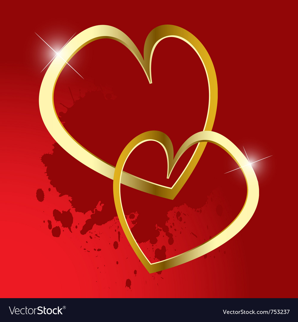 Background day valentine vector