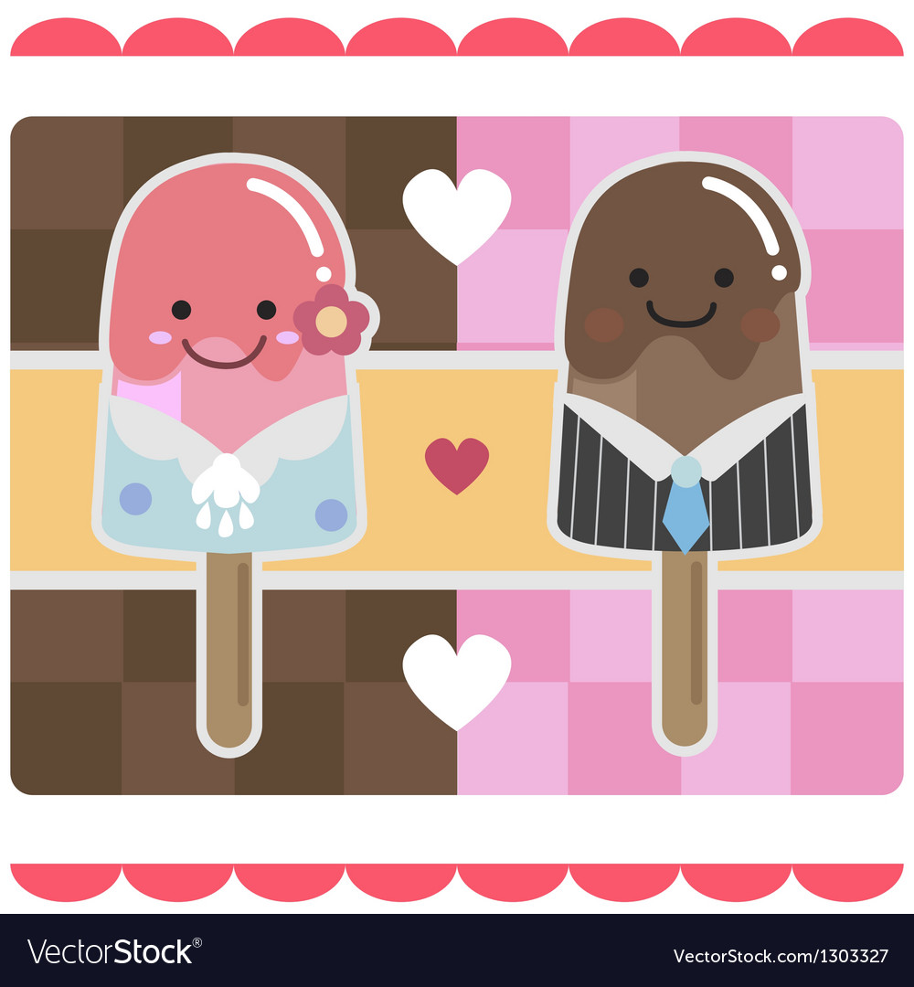 Icecream bars vector