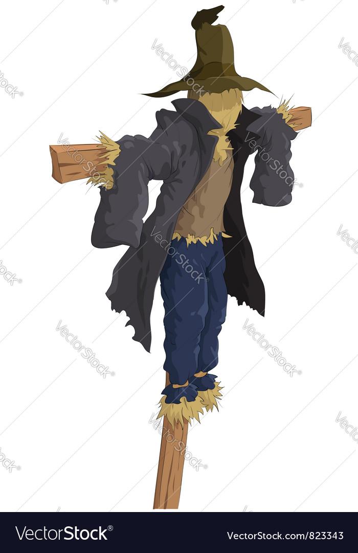 Scarecrow vector by ensiferum - Image #202131 - VectorStock