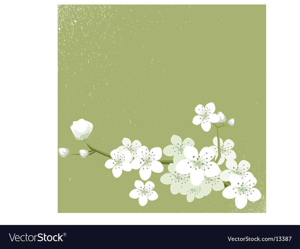 Natural art vector