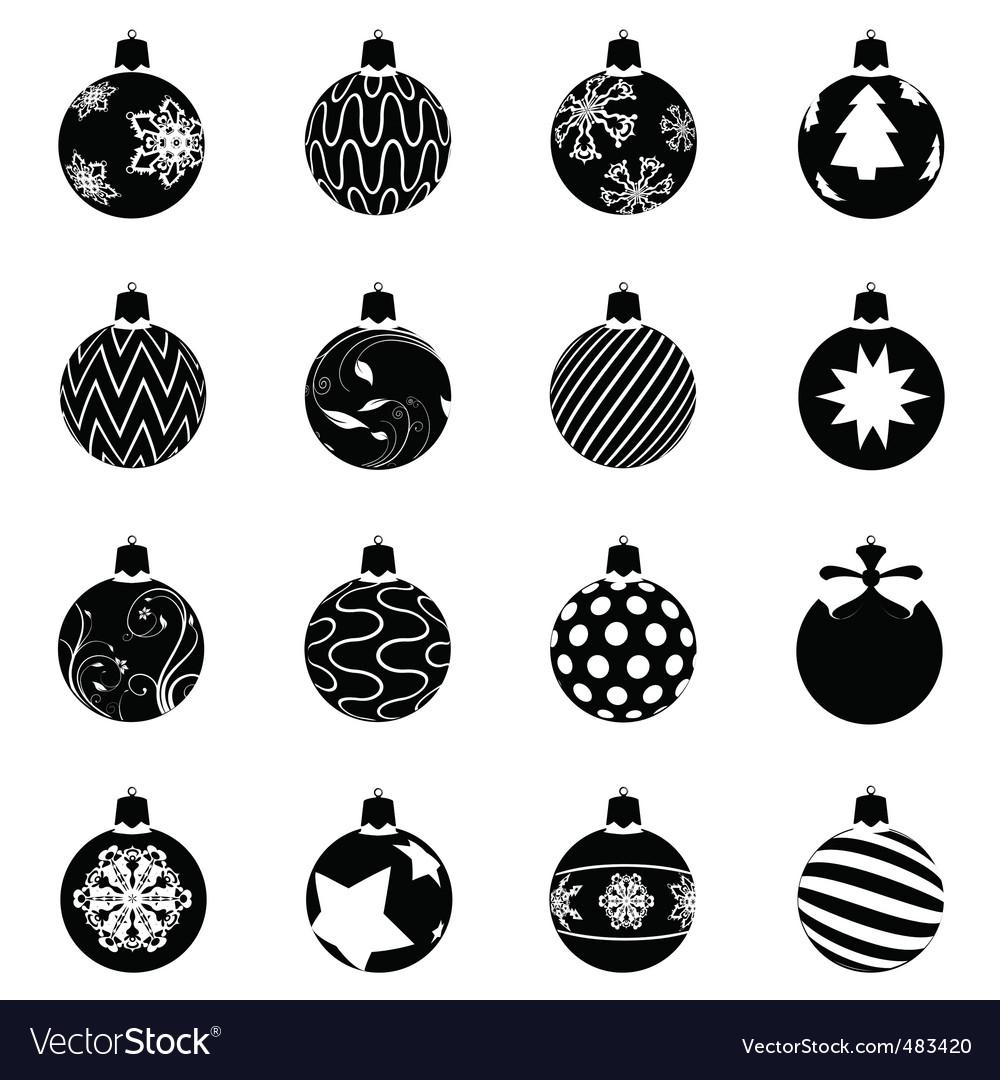 free download vector christmas ball
