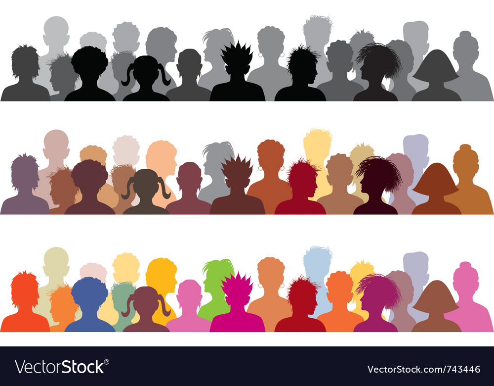 Set of audience s vector